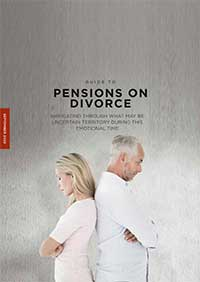 Guide to Pensions on Divorce Sept 2020